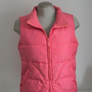 Jacob Down Puff Vest Pink Size M *Used Condition*